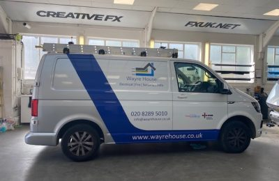 WAYRE HOUSE – REAR WRAP AND SIDE DECALS