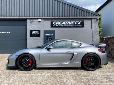 XPEL STEALTH FULL COVERAGE – CFX PORSCHE GT4