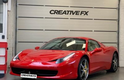 XPEL ULTIMATE FULL COVERAGE – FERRARI 458 SPIDER