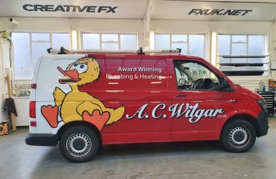 A.C WILGAR – REAR WRAP AND LIVERY