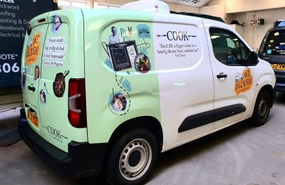 COOK – REAR WRAP AND LIVERY