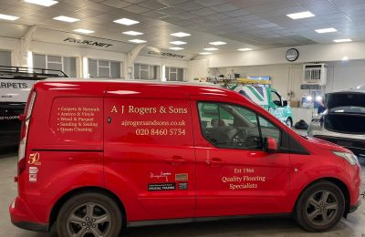 AJ ROGERS & SONS – VEHICLE LIVERY