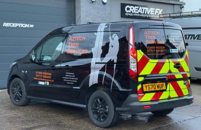 AZTECH TREES – VEHICLE LIVERY