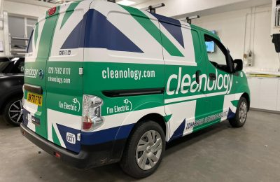 CLEANOLOGY – VEHICLE WRAP