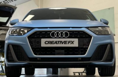 Audi A1 – FULL SATIN BLUE WRAP