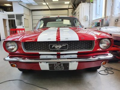 SHELBY RACING STRIPES – 1966 FORD MUSTANG COUPE