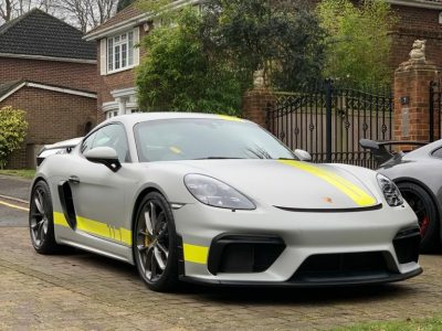 XPEL STEALTH FULL COVERAGE – PORSCHE 718 CAYMAN GT4
