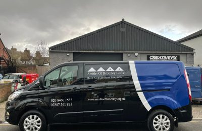 SMITHS OF BROMLEY LOFTS – PARTIAL WRAP & LIVERY