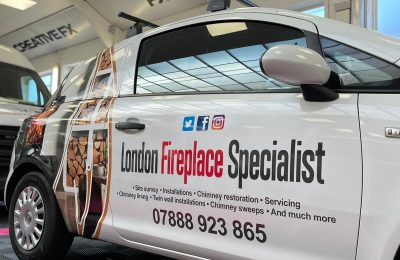 LONDON FIRE PLACE SPECIALIST – GRAPHIC WRAP & LIVERY
