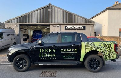 TERRA FIRMA – REAR WRAP AND LIVERY