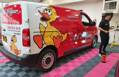 A.C. WILGAR  – VEHICLE WRAP AND LIVERY