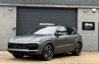 XPEL STEALTH FULL COVERAGE – PORSCHE CAYENNE TURBO