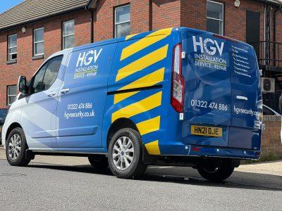 HGV SECURITY – FULL PRINTED WRAP