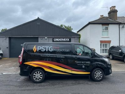 PSTG FIRE PROTECTION – VEHICLE LIVERY