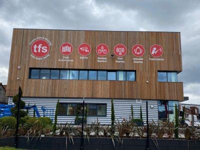 TFS – EXTERIOR & INTERIOR OFFICE SIGNAGE