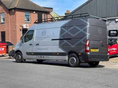 PADDY BROWN – VEHICLE LIVERY AND WRAP