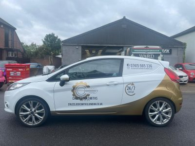 CRUZE LOCKSMITHS – VEHICLE LIVERY AND PARTIAL WRAP