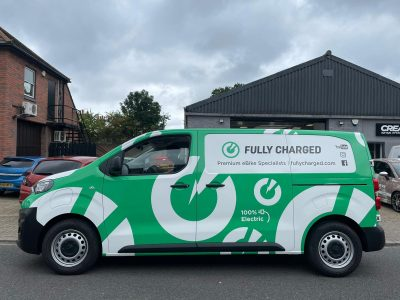 FULLY CHARGED – FULL WRAP